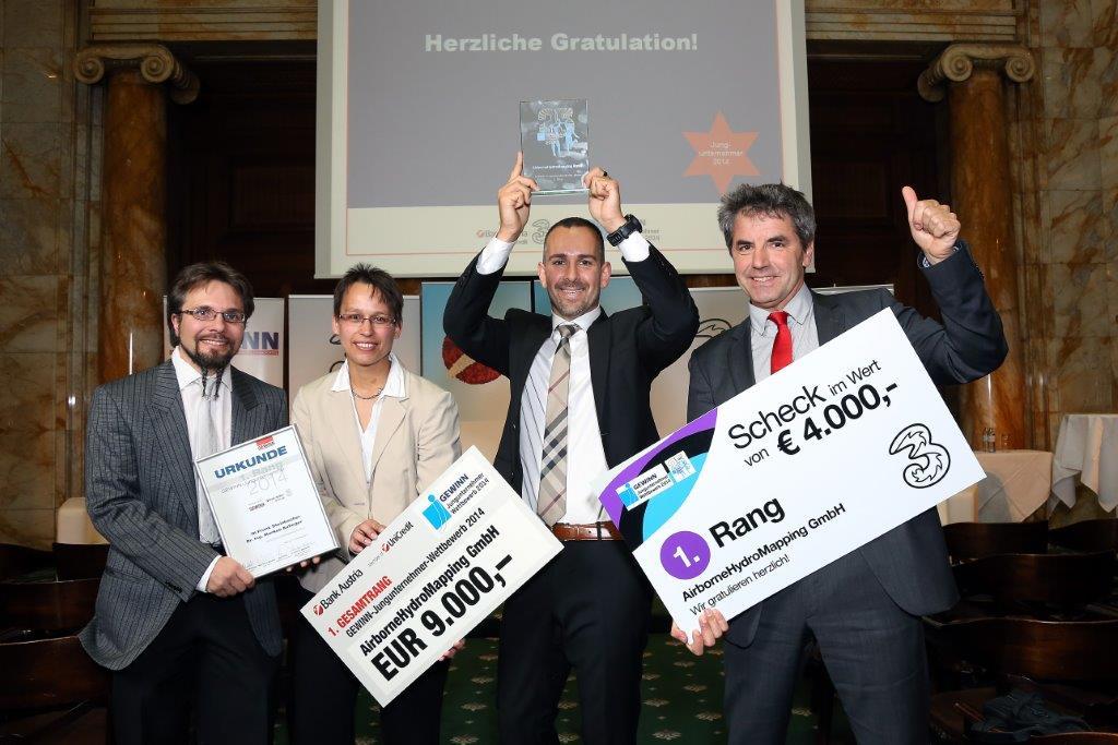 Jungunternehmerpreis 2014 für AHM