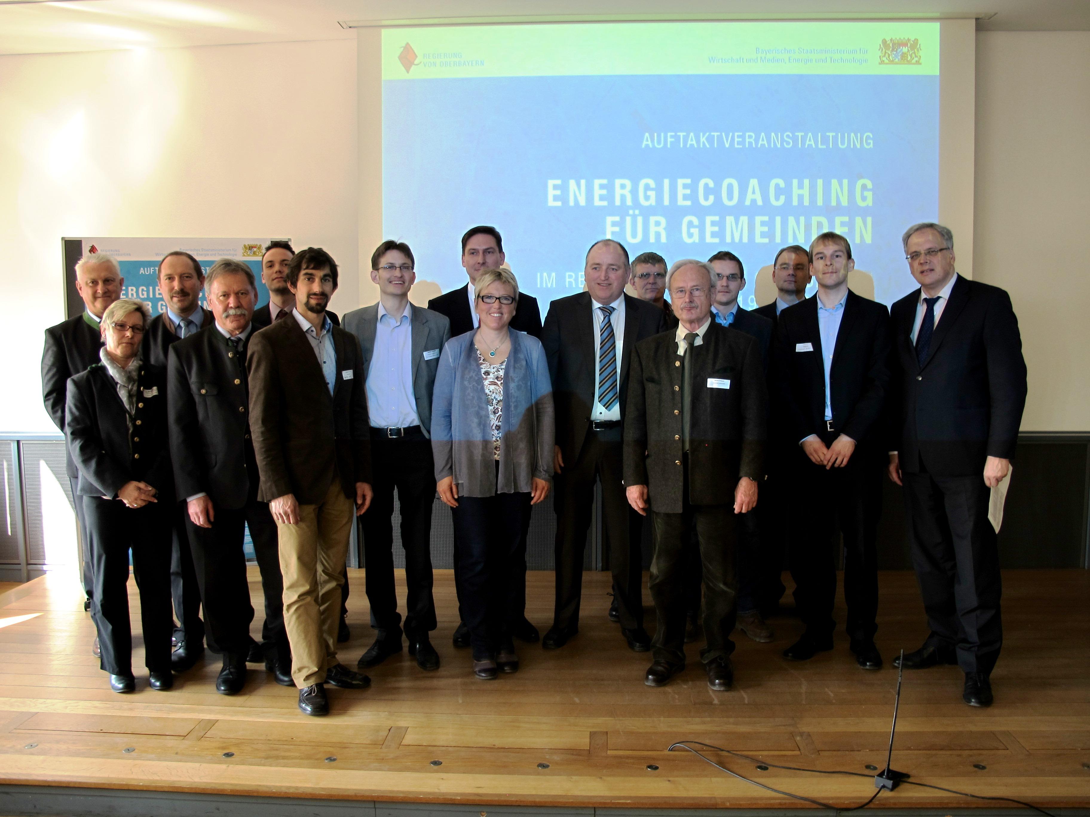 Auftaktveranstaltung zum Energiecoaching in Bad Tölz