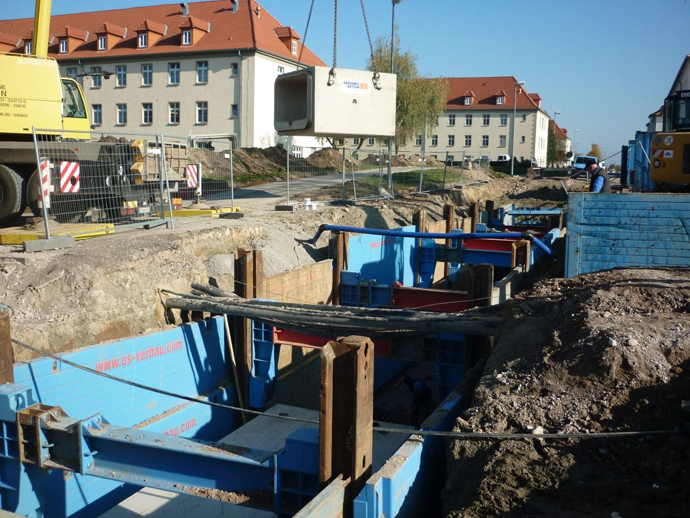 Saneirung der Außenanlagen Henne-Kaserne